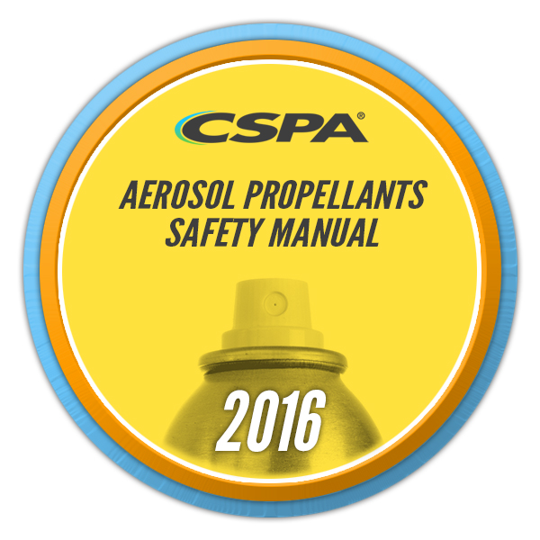 Aerosol Propellants Safety Manual image